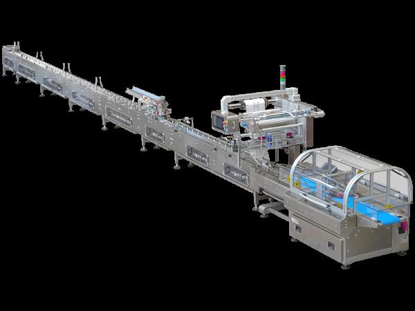 Linee automatiche per il confezionamento in atmosfera modificata (ATM) ad alte velocità